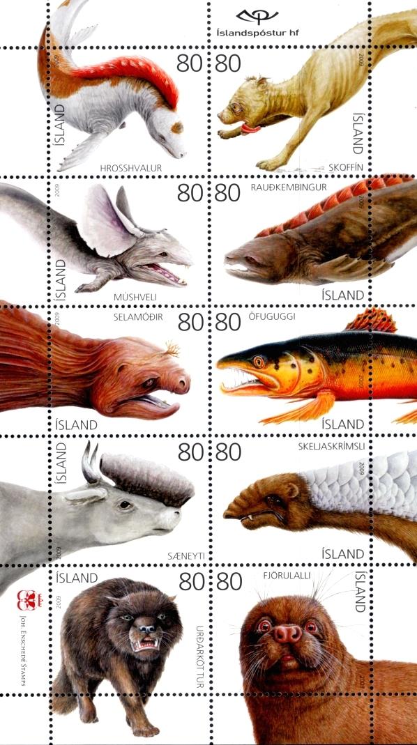 Isländische Briefmarken (2009)